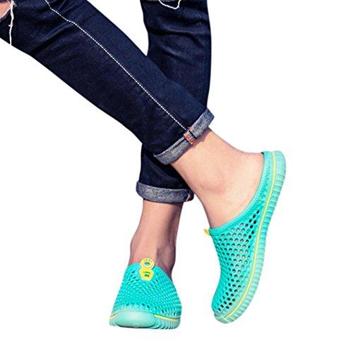 OYSOHE Männer Frauen Unisex Klassische Freizeitschuhe Paar Strand Sandale Flip Flops Schuhe Hohl Pedal Loch Sandalen Regen Stiefel (Sandalen Große Füße)