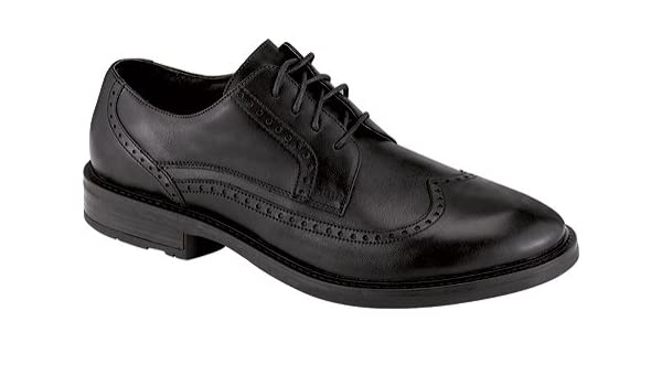 Naot Black Leather Mens Shoes Lace Up Semi Shoe Magnate 10122 removable insole B011GEGE4E