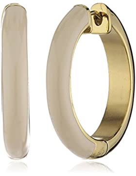 Esprit Damen-Creolen Edelstahl Harz Gold farbig Fancy ESCO11657B000