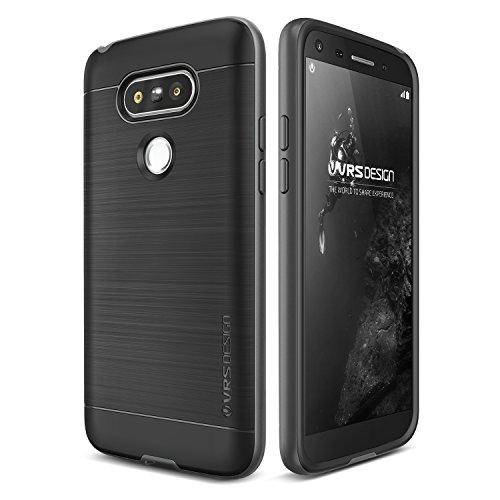 VRS Design High Pro Shield Edition Hülle   LG G5   TPU und Polycarbonat in Steel Silver   Zubehör Tasche Case Handy-Cover Schutz-Hülle Schale