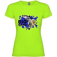 Kruskis 11502280XXLK041 Camiseta de Pesca, Mujer, Pistacho, 2XL