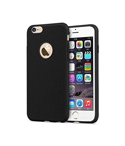 Delkart TPU Net Cover For Apple I Phone 4s (Black)