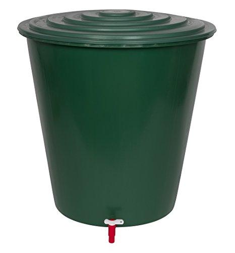 xl wassertank 210 liter aus kunststoff in gr n inklusive wasserhahn optional zu montieren und. Black Bedroom Furniture Sets. Home Design Ideas