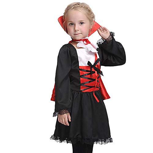 AIYA Halloween Cosplay Vampir Performance Anzug mit Mantel Kinderrolle Spielen Anime - Anime Kostüm Machen