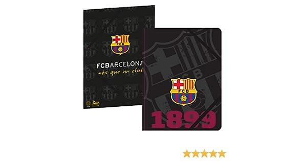 Collection officielle FC BARCELONE Rentr/ée scolaire Football Fc Barcelona Chemise plastifi/ée 3 rabats Bar/ça 24 x 32 cm