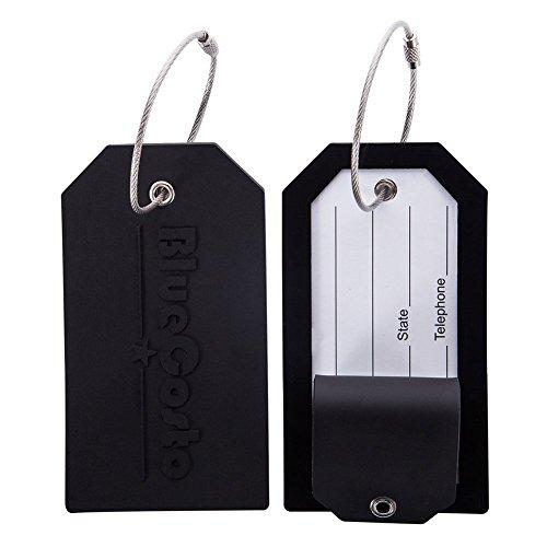 CSTOM Etiquetas de Equipaje Maleta Accesorios de Viaje +privacidad con