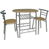 Esszimmer-Tischgruppe »Dallas« Tisch mit Stühlen Küchentisch Esstisch Sitzgruppe Esszimmergarnitur