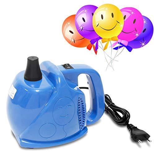 umpe elektrisch 300 Watt Aufblasgerät für Luftballons *Blau* ()