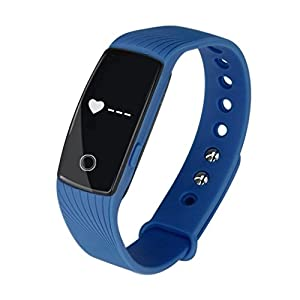 Internet Heart Rate Bracelet, Bluetooth Smart Watch Heartrate Monitor Sync Phone Mate For IOS Android
