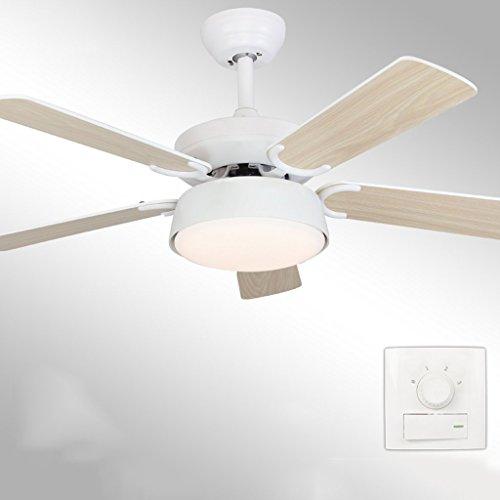 Modernes, minimalistisches Fan Light Deckenventilator Licht Esszimmer Wohnzimmer Home Große elektrische Fan Light Mode Diamond Design leisem Motor Qualitätssicherung 52 Zoll Dimmen (Farbe: Schwarz, Größe: Wand Control) (Fan-licht-schatten)