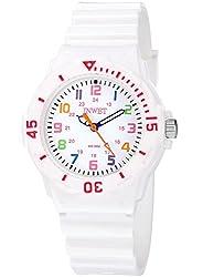 Kinderuhren Wasserdichte Sport Quarz Armbanduhr für Mädchen und Jungen Weiß