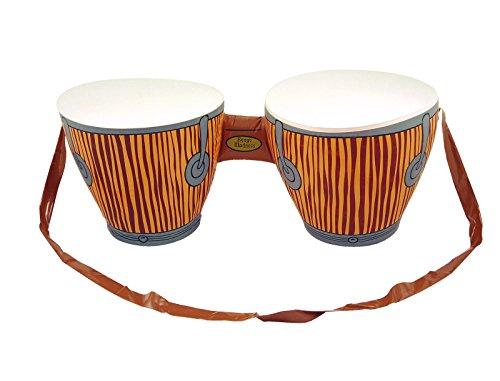 Fashion quadratisch aufblasbar Bongo Drums Hawaiian Beach Party afrikanischen Stil Prop Spielzeug