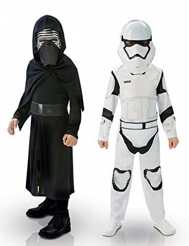 Lucas-st-620397l-Pack 2-Kylo REN und Stormtrooper-Größe L