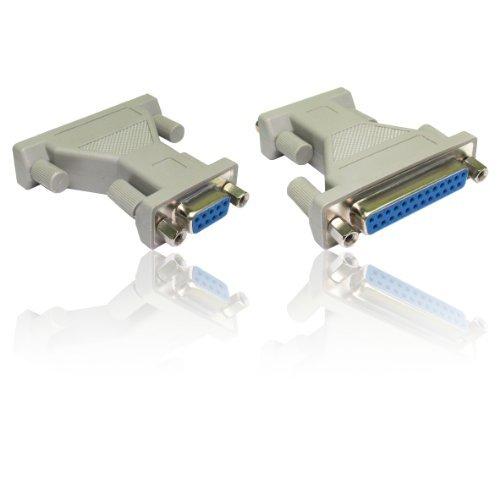 CDL Micro Adapter DB9RS-232weiblich zu DB25 Stecker weiblich mit - Db25-stecker