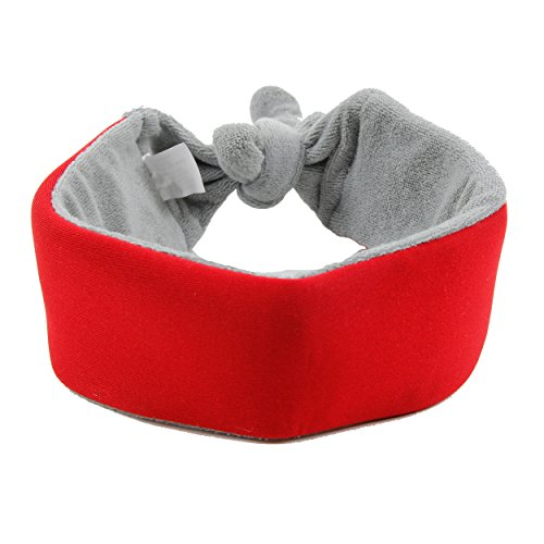 Pet Life ptcl2rd neo-Breeze Ice Pack einführb/verstellbar Kühlung Hund Hals Wrap, One Size, Rot -