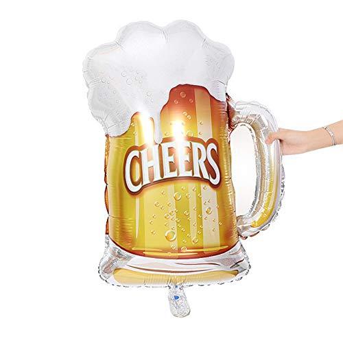 Kronen-Bier-Ballon für erwachsenes Kindergeburtstags-Hochzeits-Babyparty-Geschenk-Geschlecht-Partei-Dekor Balight - Für Partei Material Die Dekore