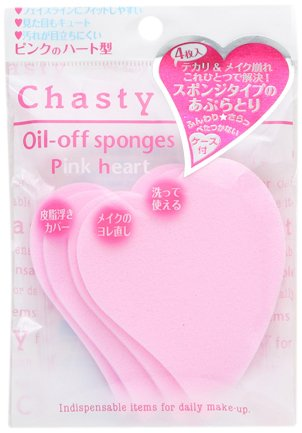 Chasty Make Up Oil Off Sponge PH - 4pc