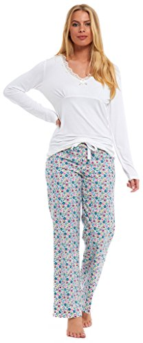 Ladies Lounge Pants 100% JERSEY COTTON Bottoms Pyjama TIE WAIST Elasticated Trousers Navy Blue Pink Cream Grey Turquoise Floral Fair Isle Hello Kitty Disney Princess Cinderella Size 8 10 12 14 16 18 - 41iB4USWkIL - Ladies Lounge Pants 100% JERSEY COTTON Bottoms Pyjama TIE WAIST Elasticated Trousers Navy Blue Pink Cream Grey Turquoise Floral Fair Isle Hello Kitty Disney Princess Cinderella Size 8 10 12 14 16 18