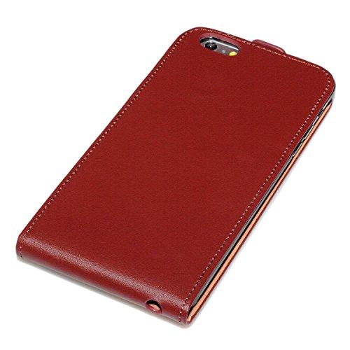 deinPhone Apple iPhone 6Plus (5.5) Custodia Bumper Case Custodia marrone