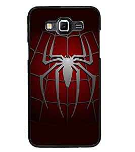 PrintDhaba Spider D-5603 Back Case Cover for SAMSUNG GALAXY GRAND 3 (Multi-Coloured)