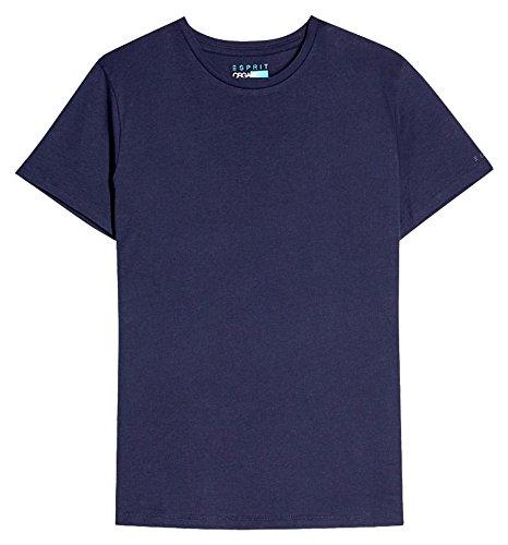 ESPRIT Herren T-Shirt 997ee2k819 Blau (Navy 400)