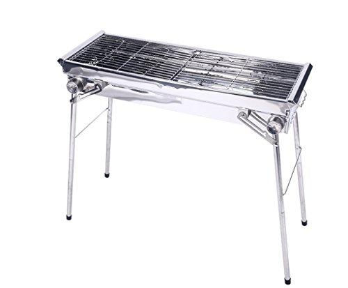JPVGIA Barbecue Grill Portable Parrilla de la Barbacoa, utensilio al Aire Libre...