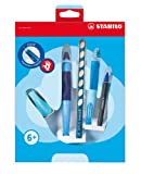 Stabilo EASYergonomics experts Kit d'apprentissage Droitier Bleu
