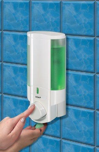 aviva-single-soap-shampoo-gel-dispenser-white