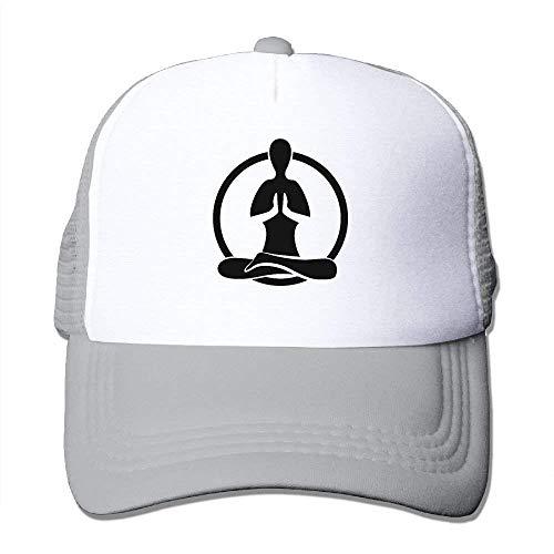 deyhfef Namaste Adjustable Sports Mesh Baseball Kappen Trucker Cap Sun Hüte ()