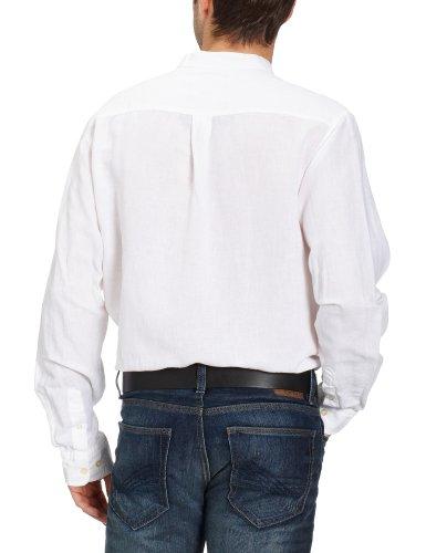 Eddie Bauer Herren Regular Fit Freizeithemd 341248 Weiß (Weiß)