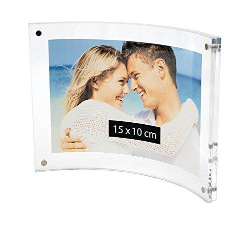 Wedo Cristallic Cadre photos acrylique avec fermeture magnétique Transparent