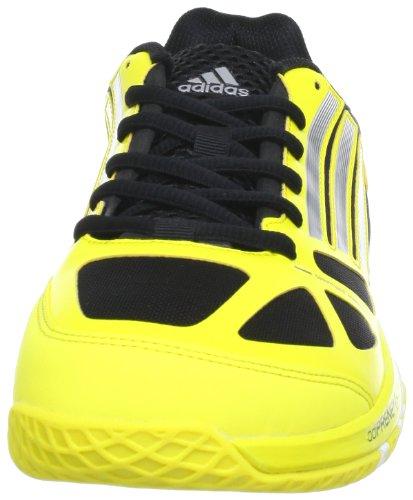 adidas adizero prime, Chaussures indoor homme Multicolore - Mehrfarbig (Vivid Yellow S13 / Dark Shale / Black 1)