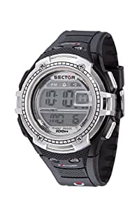 Sector Sports Watch R3251172115 In Collection Street with Digital Display, Grey Dial and Strap
