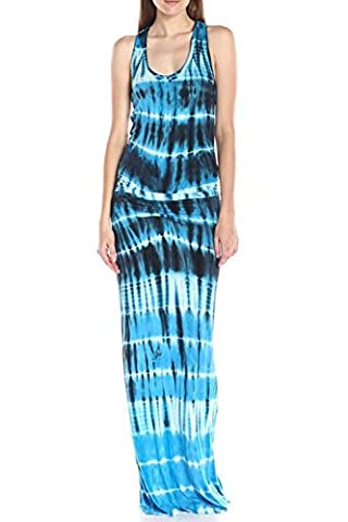 WIWIQS Maxi Dresses for Women Summer Beach Dresses For Jurniors L