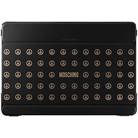 Samsung Diary Moschino - Funda para Samsung Galaxy Note Pro 12.2, color negro y peace