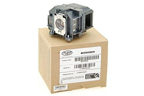 Alda PQ Original, Beamerlampe für EPSON EH-TW480 Projektoren, Markenlampe mit PRO-G6s Gehäuse
