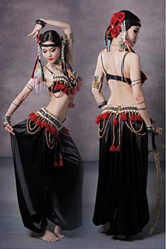 XGWD Bauchtanz Kostüm ATS Tribal Style Kostüme Übungskleidung Bauchtanz ()