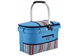 KitchenCraft 21 Litre Coolmovers Marina Collapsible Cool Basket