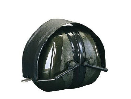 3M Peltor H520F-409-GQ Optime II Earmuffs, 31 dB, Foldable, Green