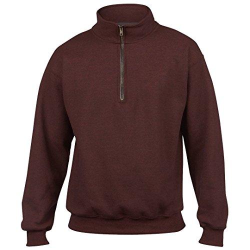 GILDAN heavyblendtm Vintage 1/4Zip Sweatshirt, Braun