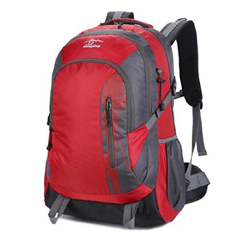 Z&N Mountaintop 40-45L KapazitäT Reise Wandern Camping Rucksack Urlaub GepäCk Tasche Schule Rucksack Running Sport Gym Storage Bag Teenager TäGlichen Gebrauch A