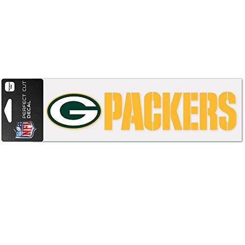 Wincraft Aufkleber 8x25cm - NFL Green Bay Packers (Packers-aufkleber Bay Green)