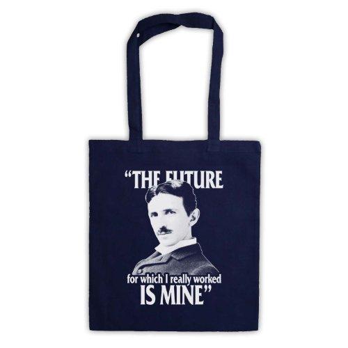 Nikola Tesla il futuro è Mine Borsa Navy blue