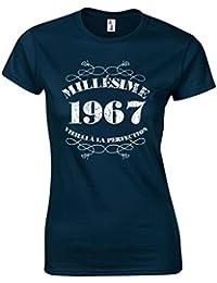 T-Shirt Femme Anniversaire 50 Ans Millésime 1967