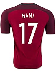 Generic 20162017Portugal 17Nani Home Football Jersey in Rot