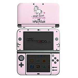 DeinDesign Nintendo New 3DS XL Case Skin Sticker aus Vinyl-Folie Aufkleber Einhorn Unicorn Sprüche
