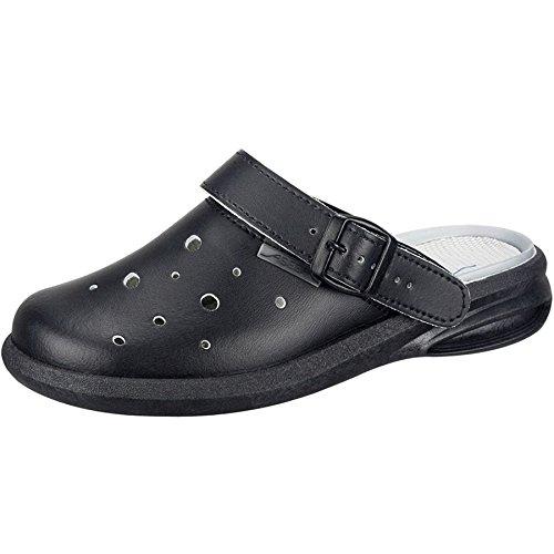 Abeba 7631-48 Easy Chaussure sabot Taille 48 Noir