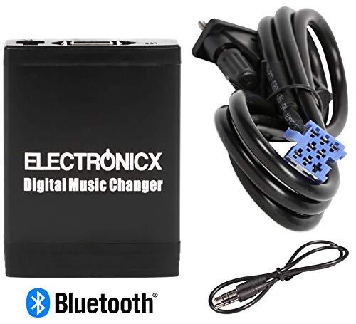 Electronicx Elec-M06-SMT+BT Adapter USB AUX SD Bluetooth mit Freisprecheinrichtung CD Wechsler Auto MP3-Player autoradio