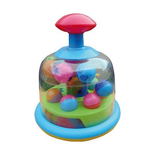 kreiselnde knallende Pals Spinner Baby Spielzeug - geeigent ab 6 Monate (Spinner Drucken)