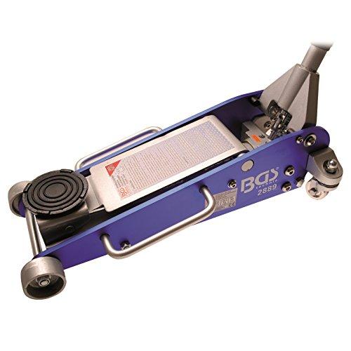 Preisvergleich Produktbild BGS Hydraulik Wagenheber Hydraulischer Rangierwagenheber Aluminium Stahl Alu